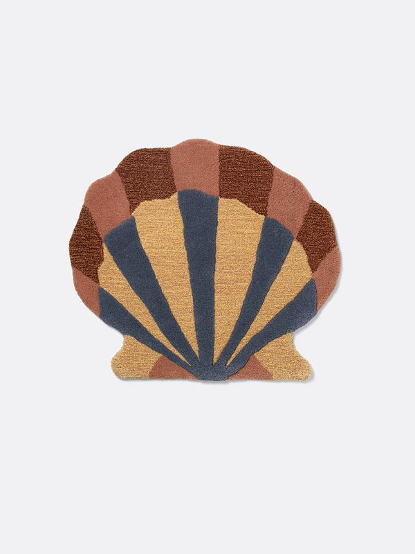 Ferm Living Kids Tufted Wall/Floor Deco - Shell