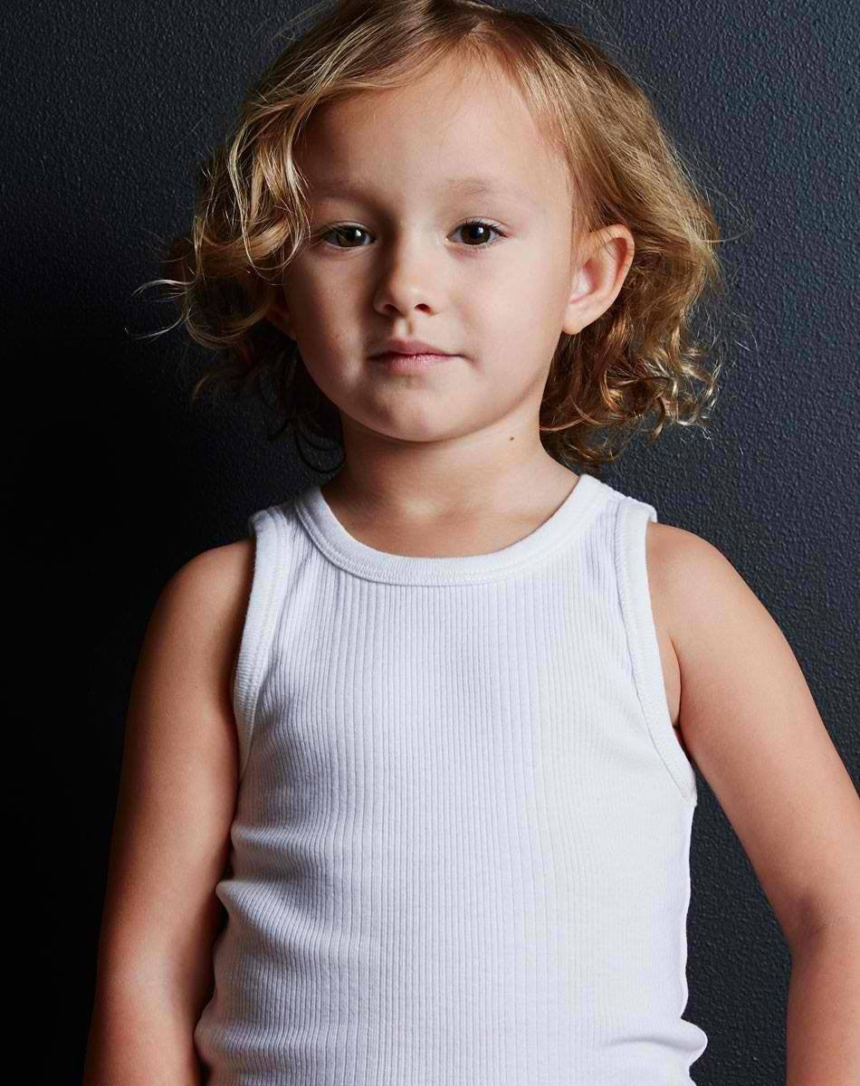 Goat-Milk Goat-Milk Boys Ribbed Tank - fawn&forest