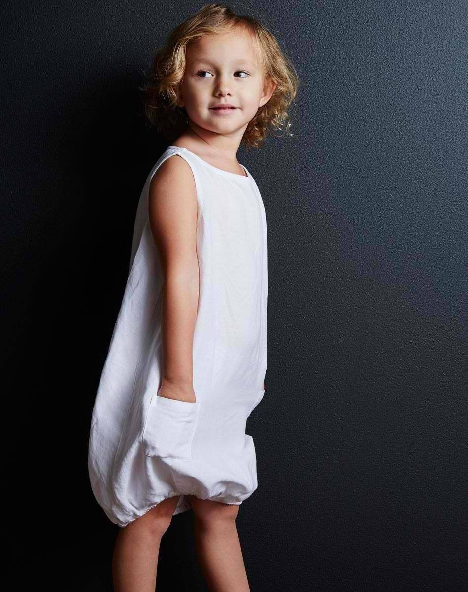 Goat-Milk Linen Dress