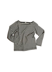 Goat-Milk Goat-Milk Boatneck Striped Top - fawn&forest