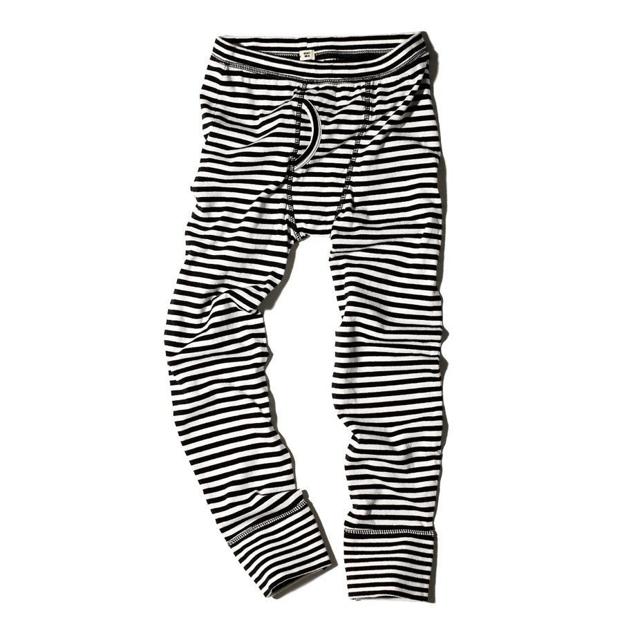 Goat-Milk Goat-Milk Boys Striped Thermal Bottom - fawn&forest
