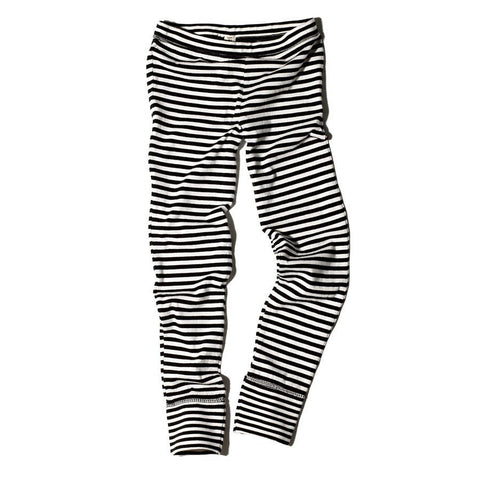 Goat-Milk Girls Striped Thermal Bottom