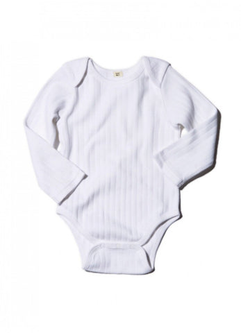 Goat-Milk Long Sleeve Onepiece Drop Needle