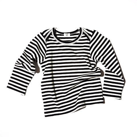 Goat-Milk Goat-Milk Striped Baby Top - fawn&forest