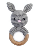 Cheengoo Bunny Teething Rattle