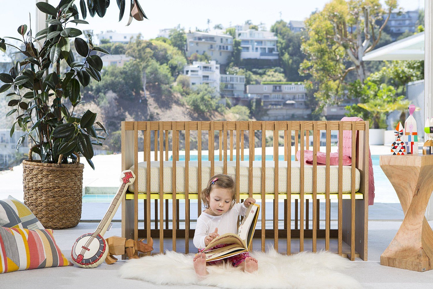 Nursery Works Nursery Works Highlight Crib - fawn&forest