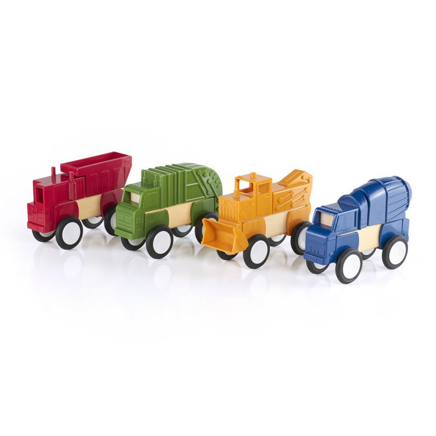 Guidecraft Blockmates Construction Vehicles - fawn&forest