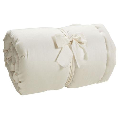 Holy Lamb Quilted Wool Mattress Topper - fawn&forest