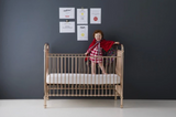 Incy Metallic Metal Crib