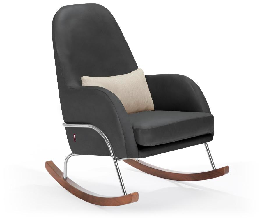 Monte Jackson Rocker - Black Enviroleather