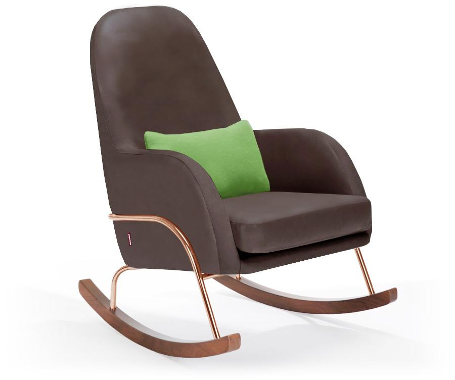Monte Jackson Rocker - Brown Enviroleather