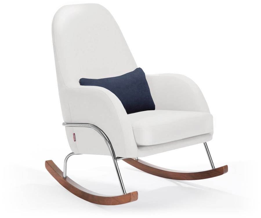 Monte Jackson Rocker - White Enviroleather