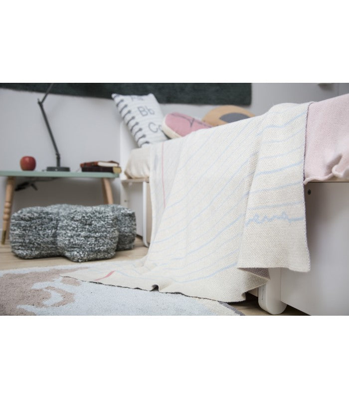 Lorena Canals Notebook Baby Blanket