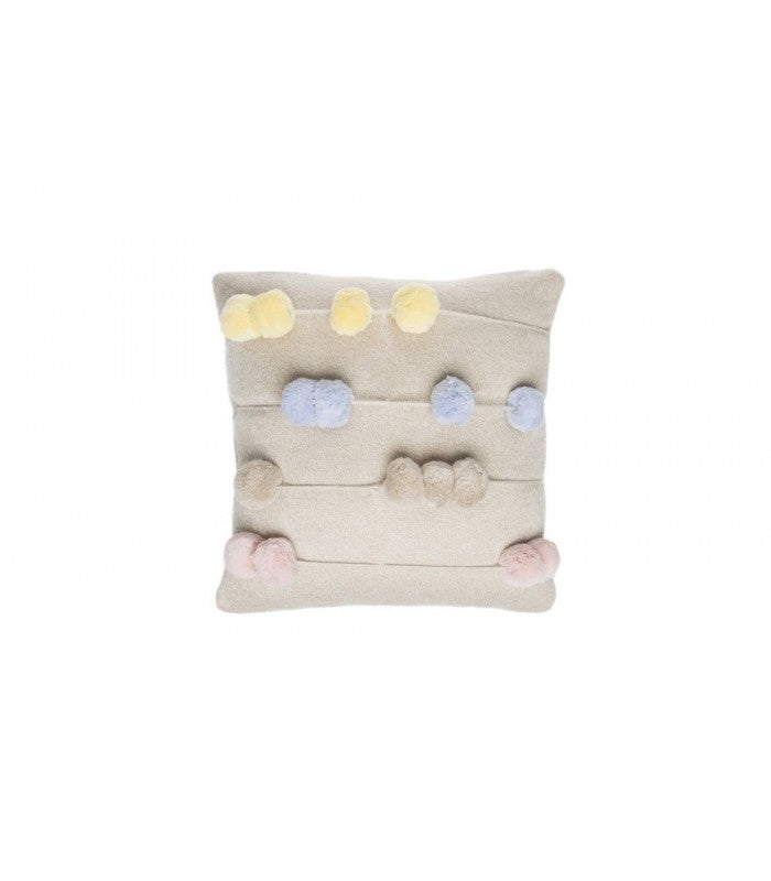 Lorena Canals Counting Frame Knitted Cushion