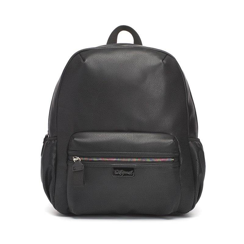 Babymel Luna Faux Leather Backpack Black