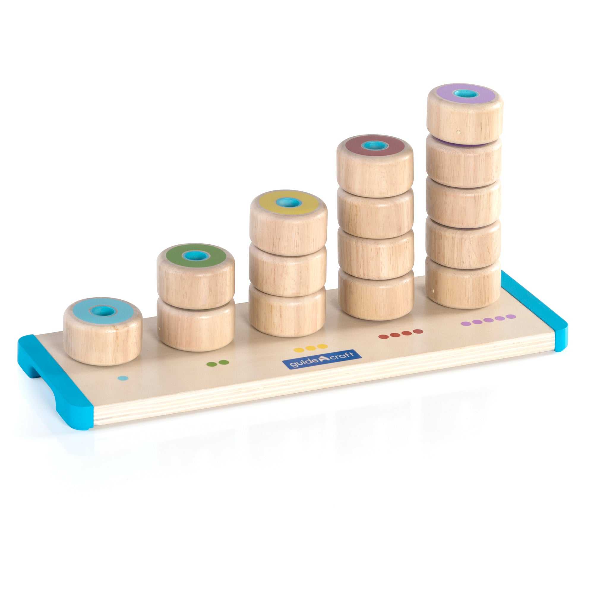 Guidecraft Count and Stack Poppers