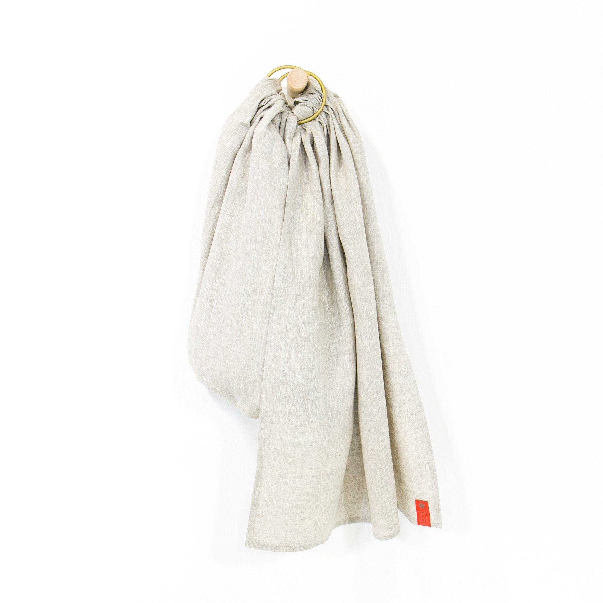 Sakura Bloom Maple Linen Ring Sling