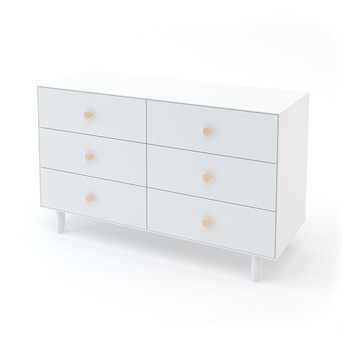 Oeuf Merlin 6 Drawer Dresser - Fawn Base