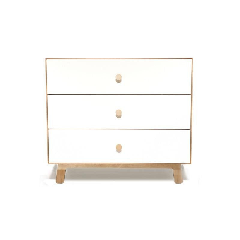 Oeuf Oeuf Merlin 3 Drawer Dresser - Sparrow Base - fawn&forest