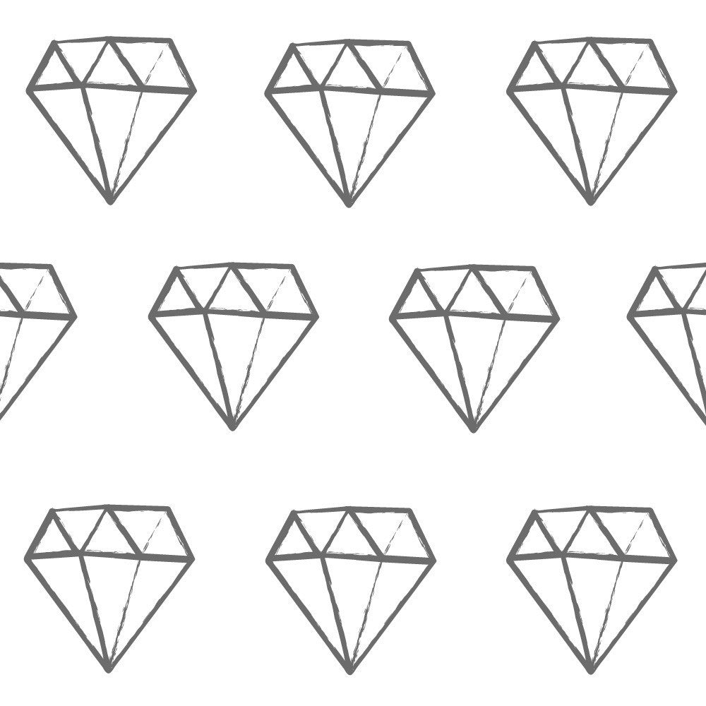 Diamonds Fabric Wall Decal