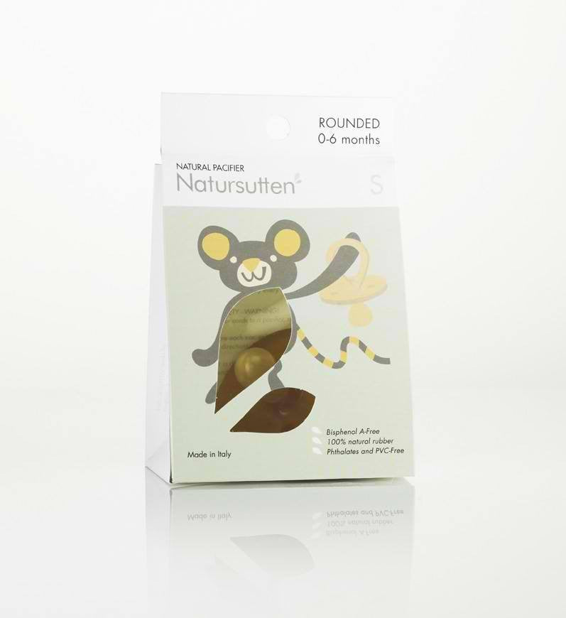 Natursutten Natursutten Rounded Pacifier - fawn&forest