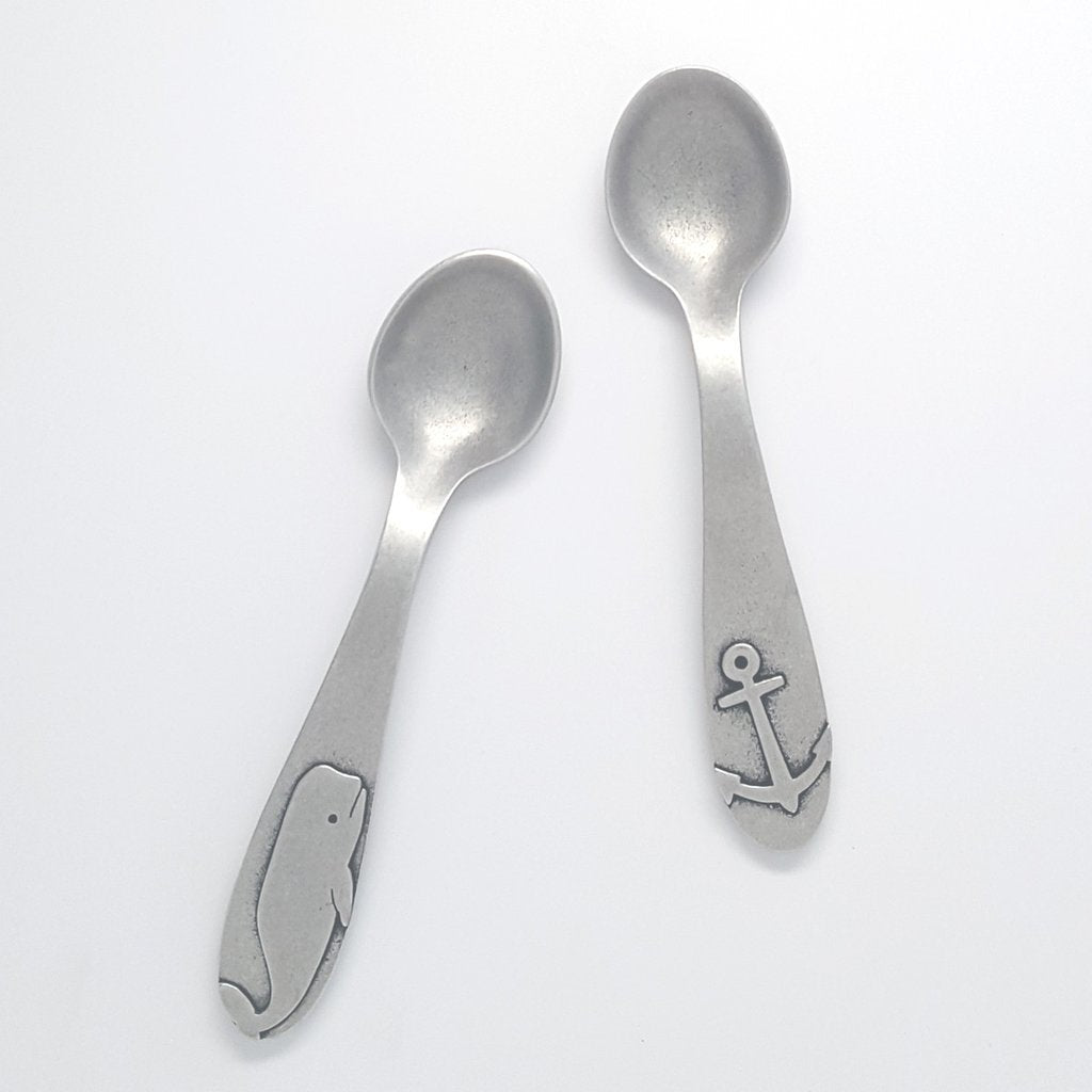 Beehive Nautical Baby Spoons