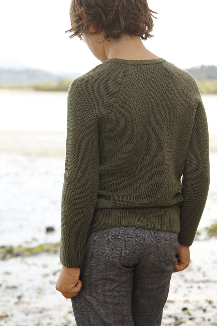 Nui Merino Wool Augustin Sweater
