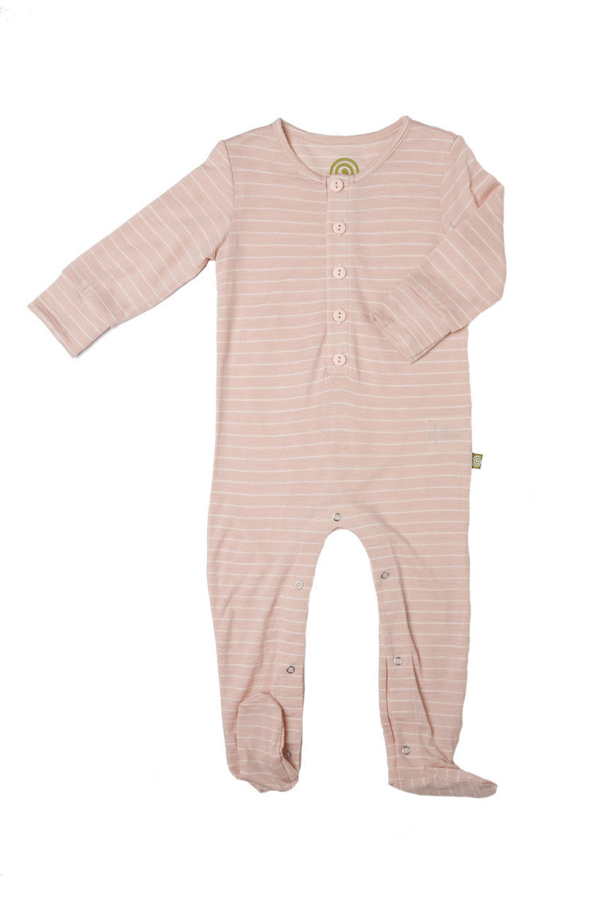 Nui Merino Wool Footed Bodysuit