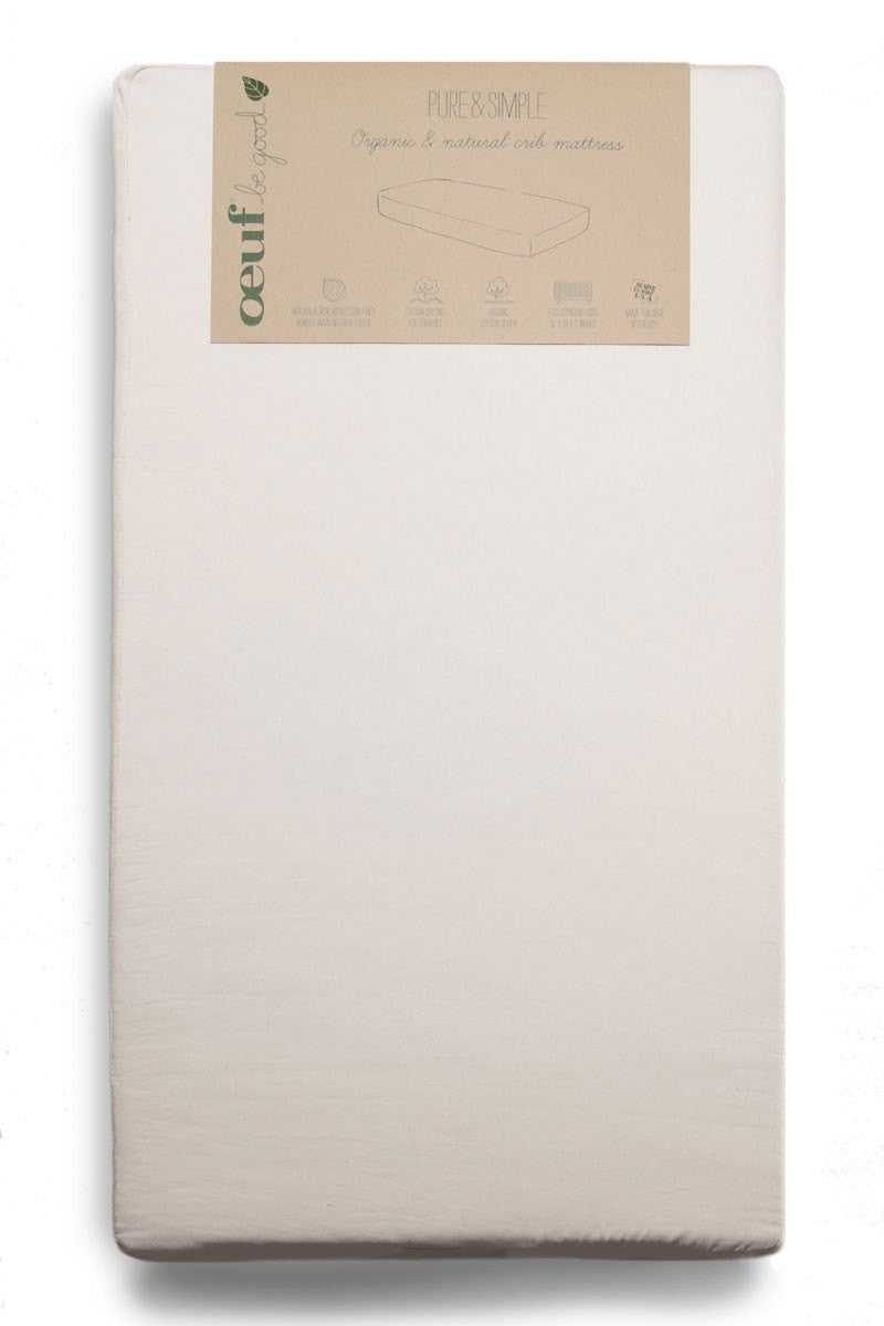 Oeuf Oeuf Pure & Simple Organic Crib Mattress - fawn&forest