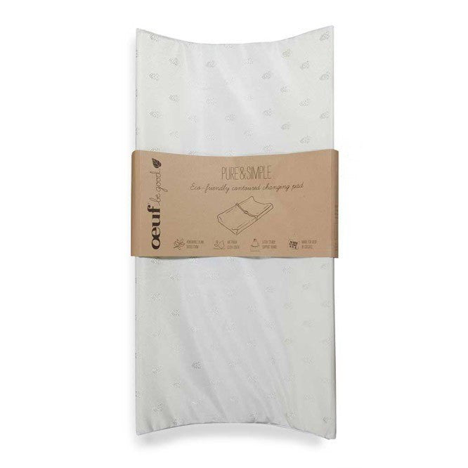 Oeuf Oeuf Pure & Simple Eco-Friendly Contoured Changing Pad - fawn&forest