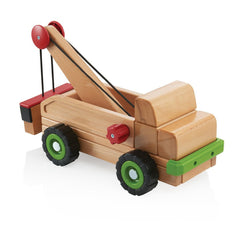 Guidecraft Bigblock Tow Truck - fawn&forest