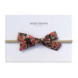 Schoolgirl Bow Headband - Liberty Orchard