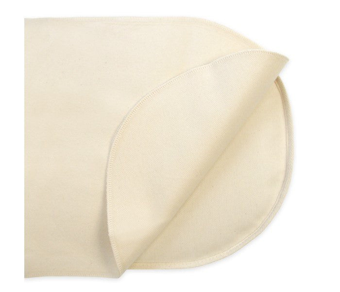 Naturepedic Naturepedic Organic Cotton Waterproof Protector Pad - Flat - fawn&forest