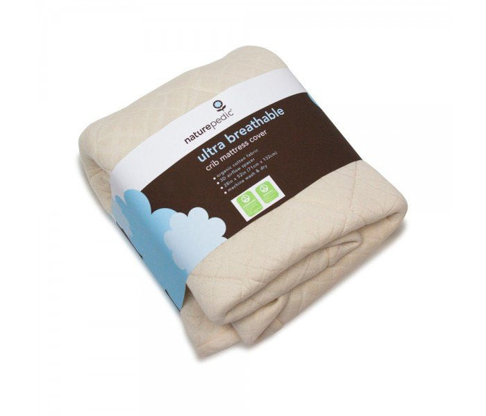Naturepedic Naturepedic Ultra Breathable Crib Mattress Cover - fawn&forest