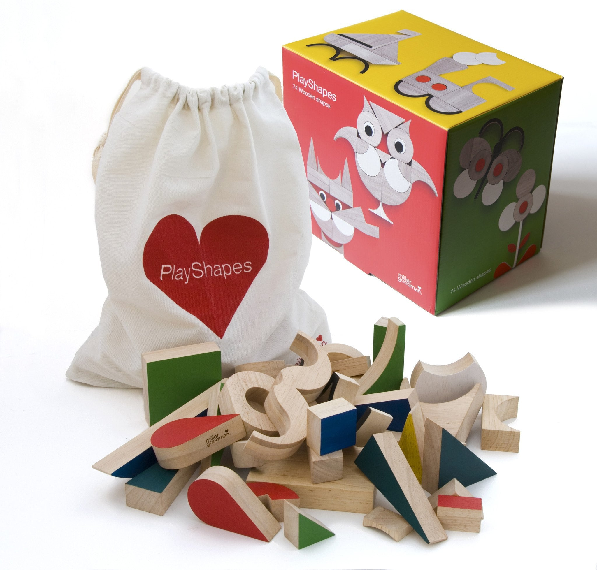 Playsam Playshapes - fawn&forest