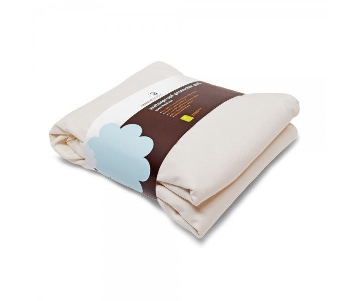 Naturepedic Naturepedic Organic Cotton Flannel Protector Pad - fawn&forest