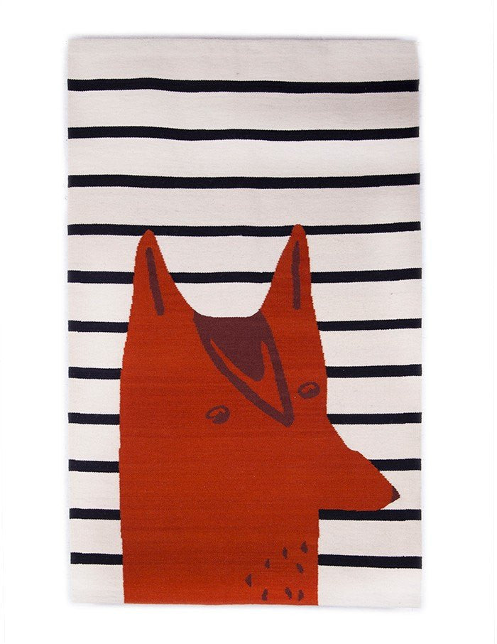 Oeuf Oeuf Fox Rug - fawn&forest
