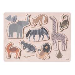 Ferm Living Kids Safari Animal Puzzle