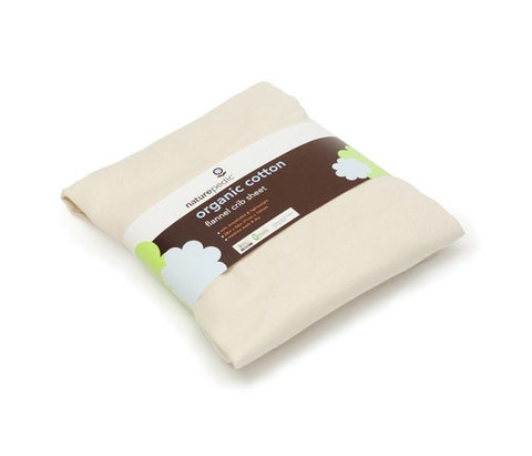 Naturepedic Organic Cotton Flannel Crib Sheet