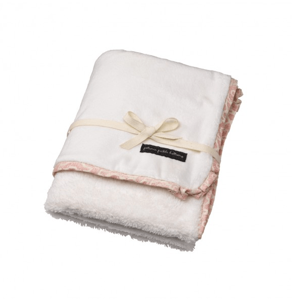 Petunia Pickle Bottom Plush Receiving Blanket - fawn&forest
