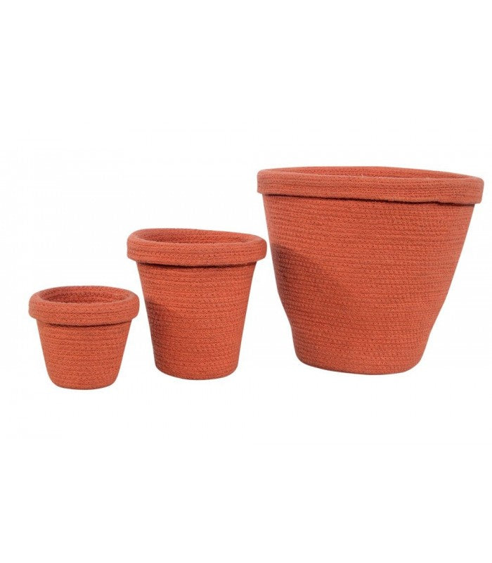 Lorena Canals Terracota Basket Set