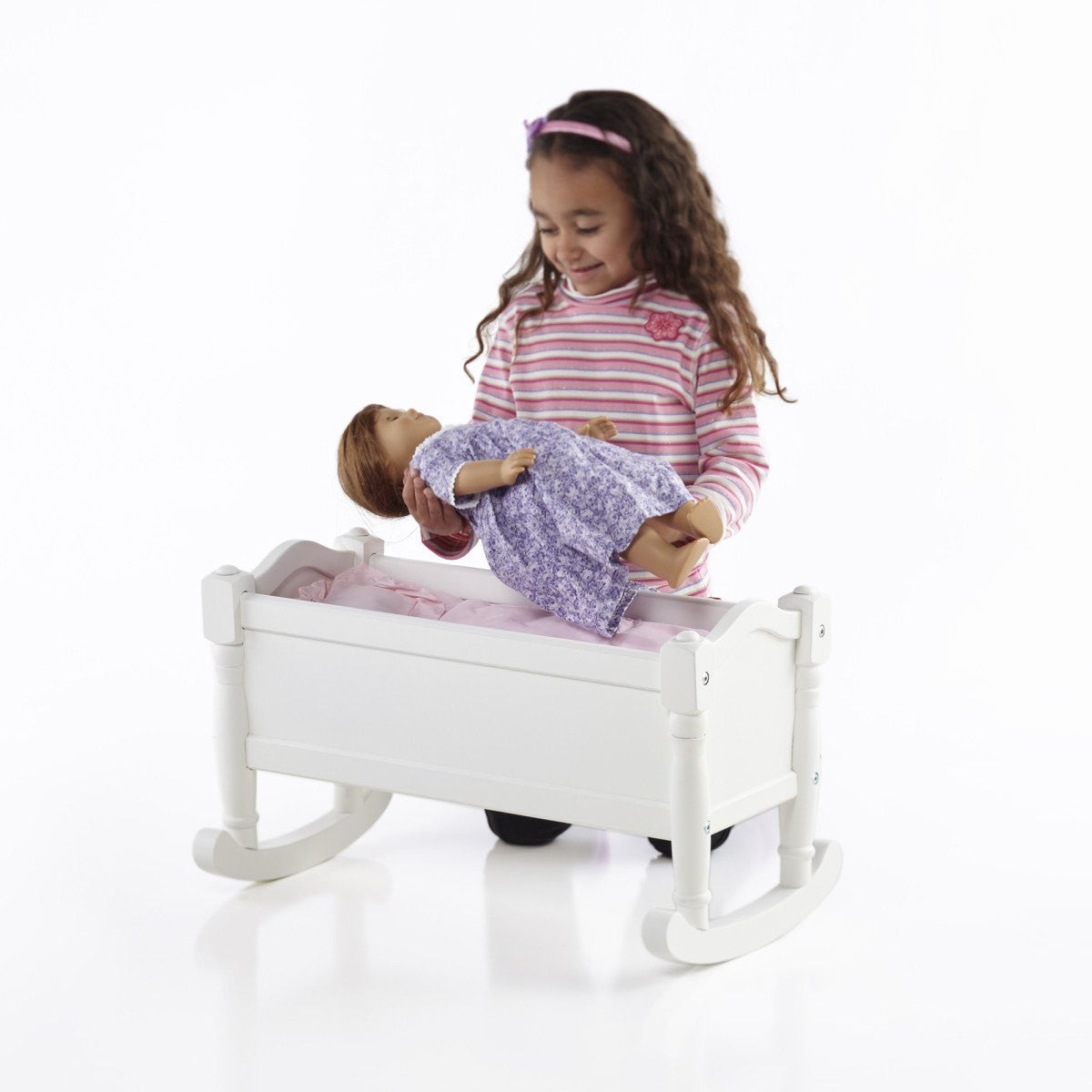 Doll Cradle - White