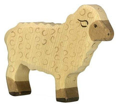 Holztiger Wooden Cream Sheep - fawn&forest