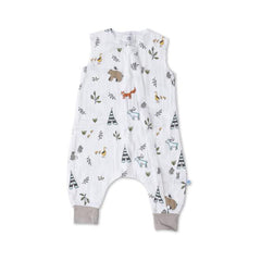 Little Unicorn Forest Friends Sleep Romper