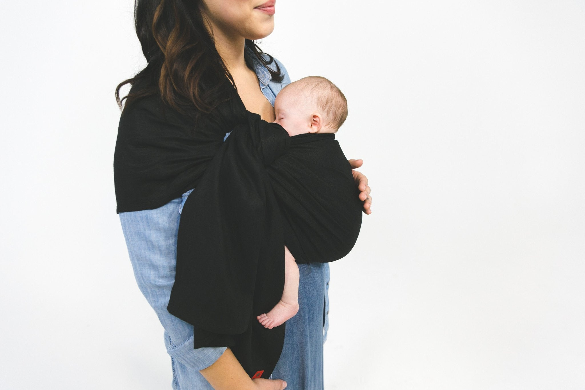 Sakura Bloom Sakura Bloom Raven Linen Ring Sling - fawn&forest