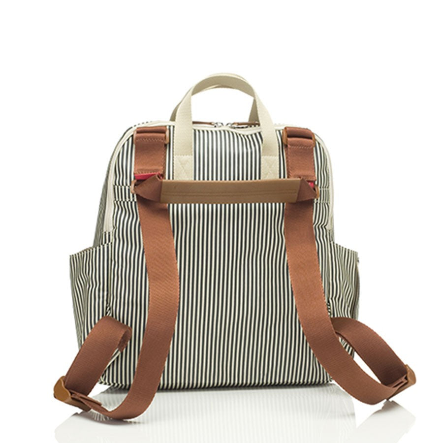 Babymel Robyn Convertible Backpack Navy Stripe