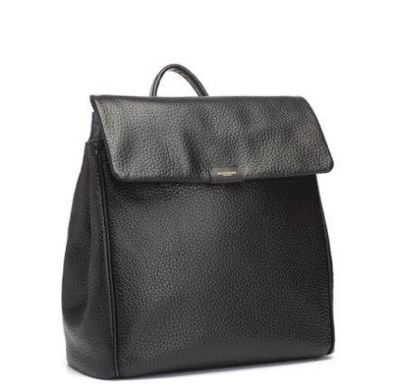Storksak St. James Convertible Leather Backpack