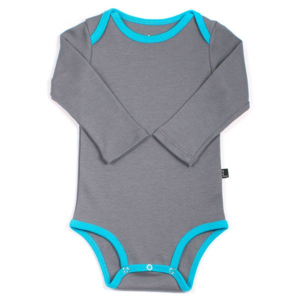 axl Organic Cotton Long Sleeve Bodysuit - fawn&forest