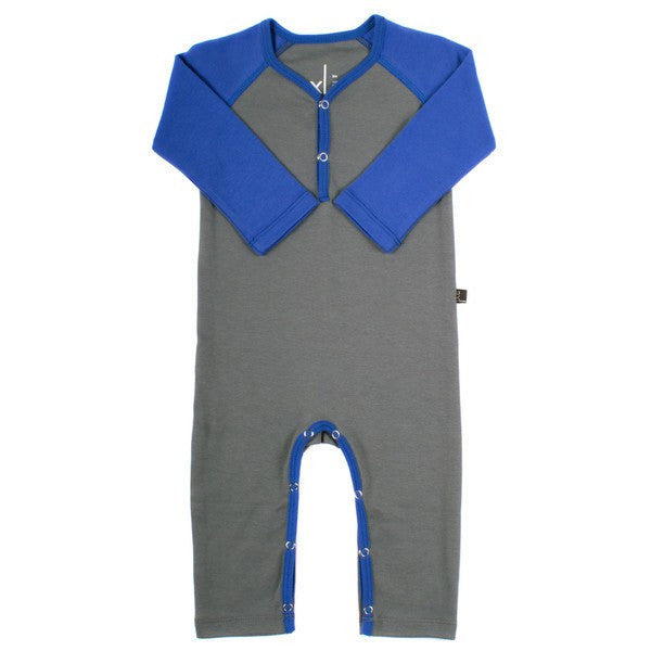 Organic Cotton Jumpers - Storm / Cobalt