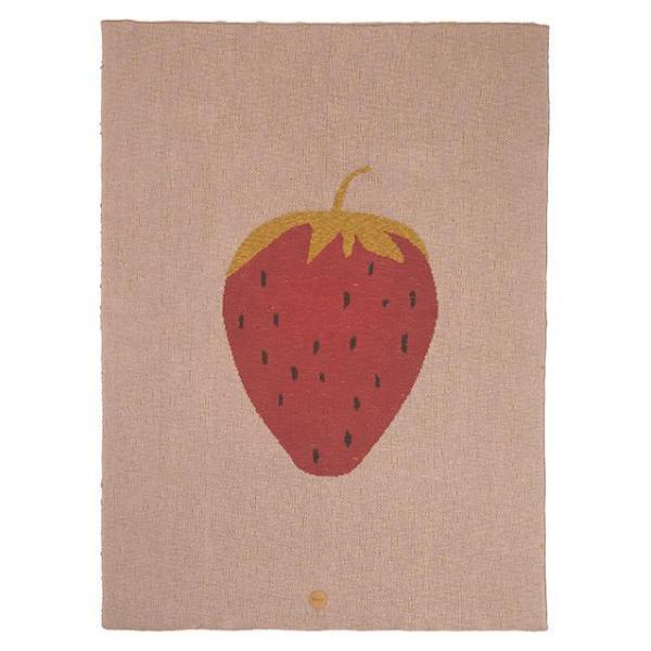 Ferm Living Kids Strawberry Blanket
